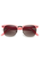 Cute Pastel Colors Wayfarer Clubmaster Womens Sunglasses 8955
