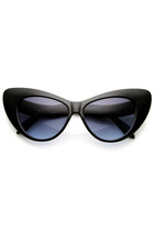 Designer Womens Oversize Retro Cat Eye Fashion Sunglasses 8938