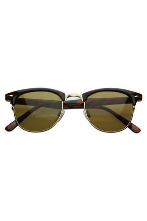 brown zeroUV sunglasses