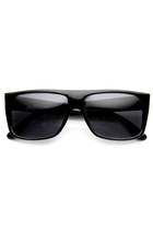 Retro Old School 1980's Flat Top Polarized Sunglasses 8956