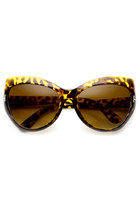 Glamorous High Fashion Designer Womens Cat Eye Sunglasses 8934
