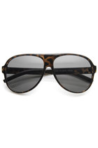 RETRO 1980'S HIPSTER LARGE MEN'S AVIATOR SUNGLASSES 9113