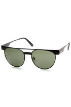 TRENDY RETROTASTIC FUTURE FASHION FLAT TOP ROUND AVIATOR SUNGLASSES 9132