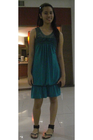 green Blu Heaven dress - black Local Department Store shoes