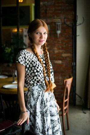white Kurzeneva skirt - black Carnaby boots - white Mango top